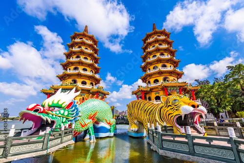 Kaohsiung Lotus Pond and Pagodas Poster