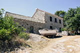 An old house on the island Lastovo - 143430441