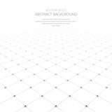 Abstract background with a grid of geometric elements. - 143469627