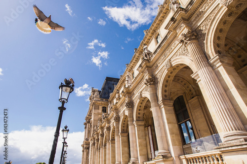 Louvre, the largest museum in the world Poster