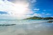 Beautiful tropical beach, Pangan, Thailand. Haad Rin Beach