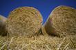 Getreideballen aus Stroh - 143527282
