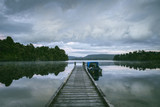 Jetty Lake Mapourika New Zealand