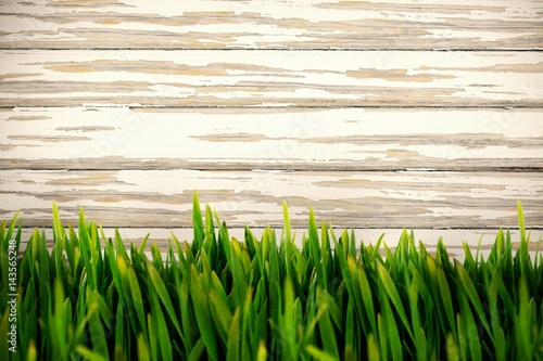 Composite image of grass growing outdoors - 143565248