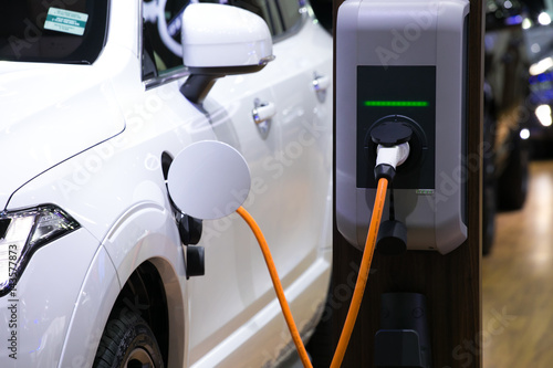 Power supply for electric car charging Poster