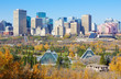 City of Edmonton, Canada, in autumn of 2016.
