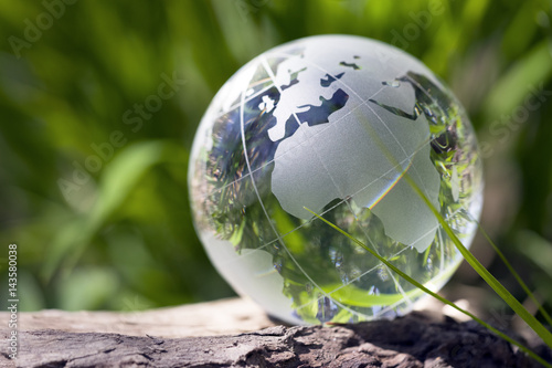Foto Murales Eine Welt, Klimaschutz, Ökobilanz