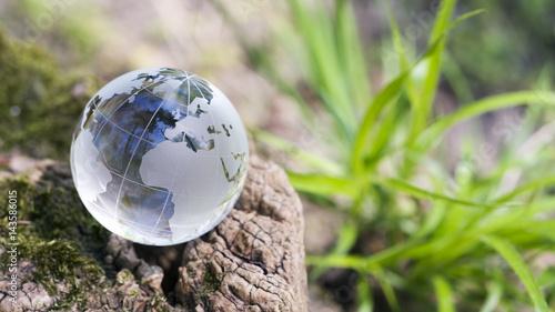 Leinwanddruck Bild Klimawandel, Naturschutz
