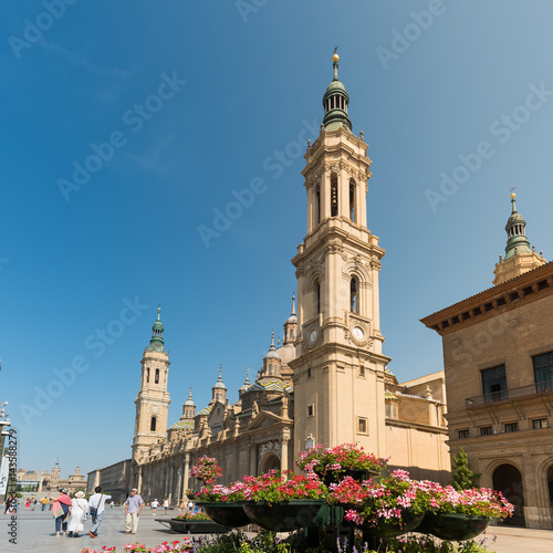 El Pilar temple in Zaragoza, Spain