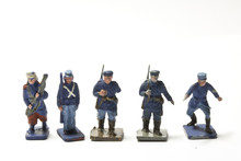 Of Antique Tin Toy Soldiers Sticker