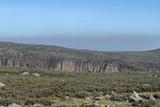 Landschaften im Nationalpark Bale Mountains in Äthiopien