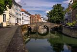 City. Bridge. Bruges.