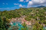 Portofino village on Ligurian coast, Italy