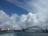 Die Oper von Sydney mit Harbour Bridge