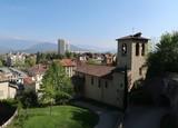 Vue sur la ville de Grenoble et de ses environs