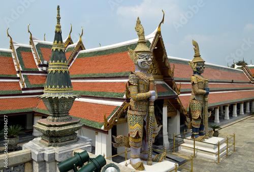 Poster Большой королевский дворец в Бангкоке.