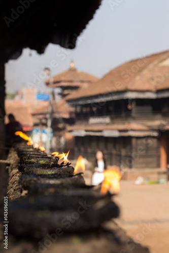 Peace Nepal Billede på lærred