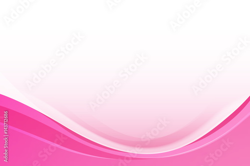 Abstract Pink background with simply curve lighting element vector eps10
