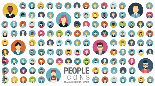 Icônes personnages