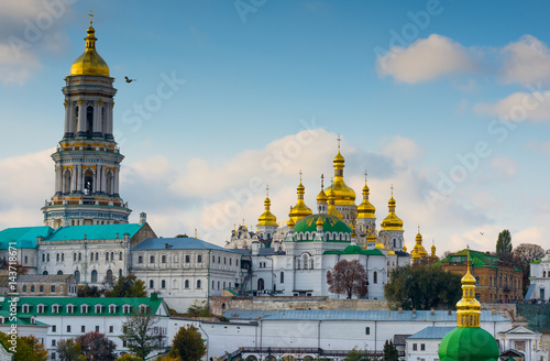 Canvas Kiev Kiev-Pechersk Lavra.