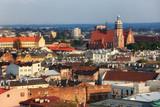 Kazimierz District in city of Krakow in Poland