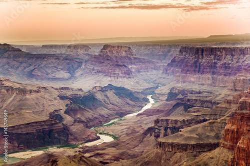 sunrise at Grand Canyon Poster