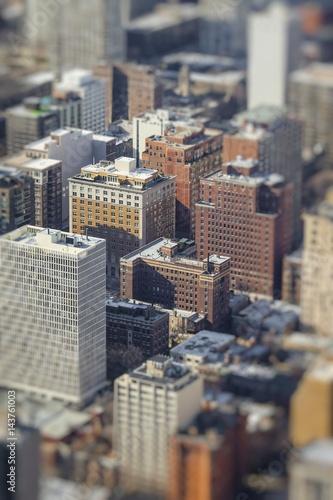 Chicago Skyline Aerial View © Curioso Photography