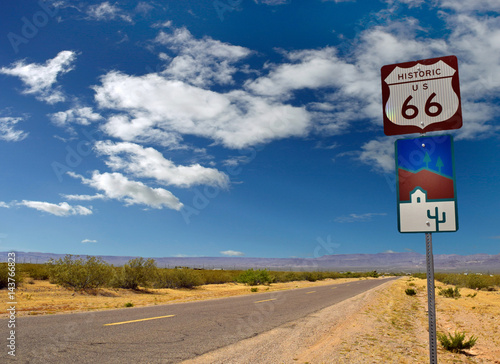 Route 66 sign Arizona Poster