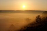 Nebelstimmung bei Sonnenaufgang