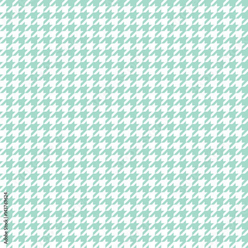 Seamless houndstooth pattern. Vector image. - 143769624
