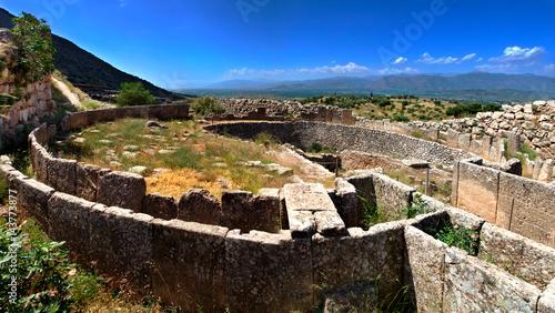Grave Circle A, the citdael of Mycenae. Pt.II