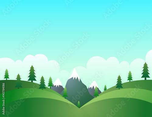 Clean environment nature landscape