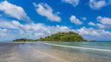 Beauty Island on daylight summer season
