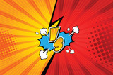Fight backgrounds comics style design. Vector illustration. - 143865452