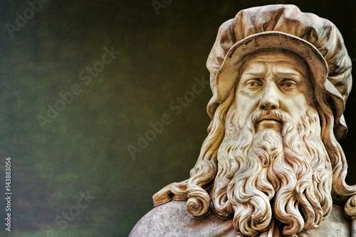 Poster Florenz, Leonardo da Vinci