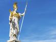 Leinwandbild Motiv Österreich, Wien, Parlament