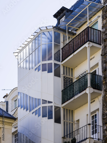 Plakat Vérandas dans un immeuble Parisien