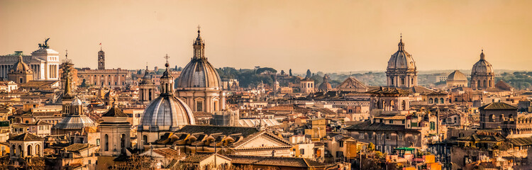 Panorama Rzymu Fototapeta