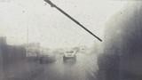 lluvia en autopista