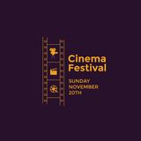 Cinema festival emblem - 143982698