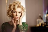 Luxury rich woman like Marilyn Monroe
