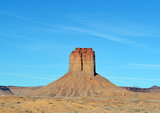 Chimney Rock/Landscape view of Chimney Rock in Colorado Desert