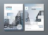 Annual report brochure flyer design template vector, Leaflet cover presentation, book cover. - 144024007