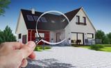 Concept audit et achat immobilier de maison - 144034282
