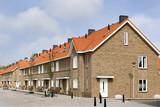 Contemporary neighborhood in the Netherlands - 144046092