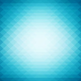 Shiny geometric style background with vibrant blue color tone. - 144086645