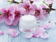 fresh as Spring, natural cosmetics with flowers