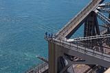 Arbeiter auf der Harbour Bridge
