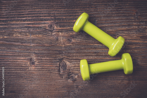 Fitness or sport background. Close up