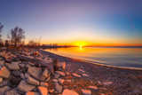 Sunrise at Humber Bay Park, Toronto, Ontario, Canada